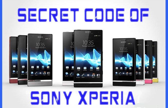 Sony Xperia Mobiles Secret Code