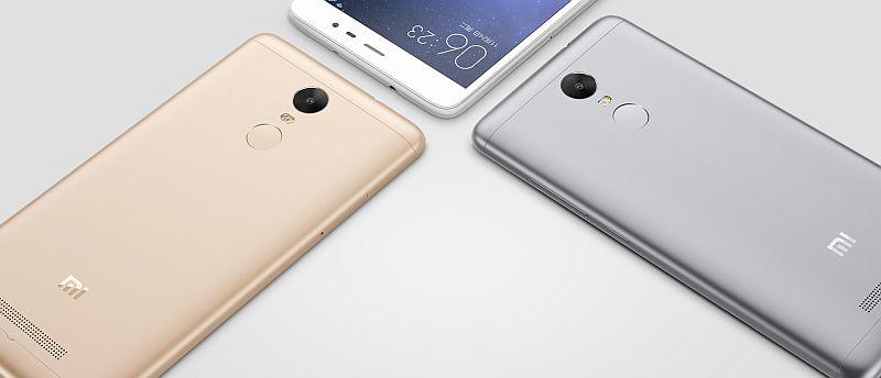 Xiaomi Redmi Note 3 metal finish