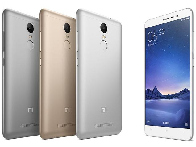 redmi note 3 color variants