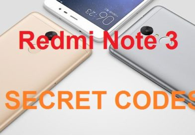 xiaomi redmi note 3 secret code
